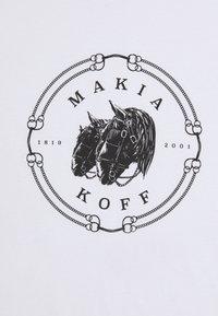 Makia - LUDVIG  - T-shirt print - white - 2