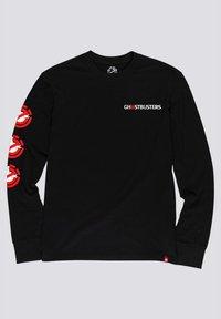 Element - Ghostbusters Goop - Longsleeve  - Print T-shirt - flint black - 1