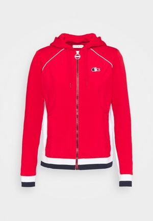 OLYMP  - Zip-up hoodie - red/white/navy blue