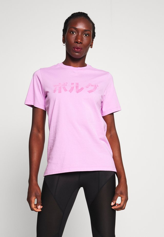 SPORT TEE - T-shirt con stampa - violet tulle