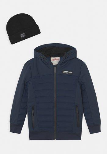 TEVISI SET - Winter jacket - midnight blue