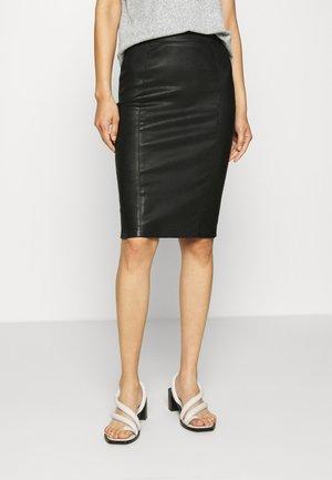 EMILO - Falda de tubo - black