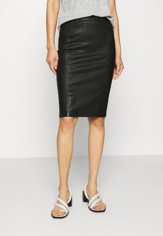 EMILO - Pencil skirt - black