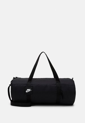 HERITAGE - Sports bag - black/white