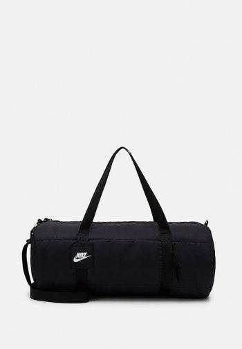 HERITAGE - Treningsbag - black/white