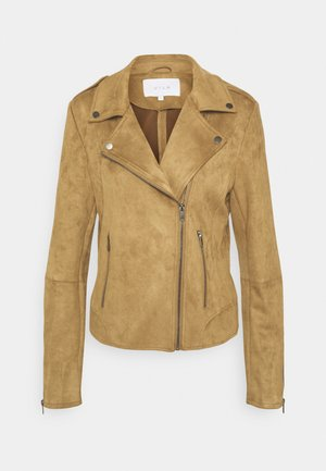 VIFADDY JACKET - Faux leather jacket - butternut