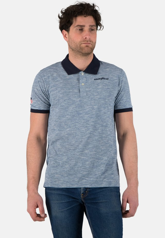 Polo shirt - ice blue
