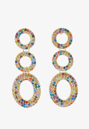 Boucles d'oreilles - gold-coloured/multi color