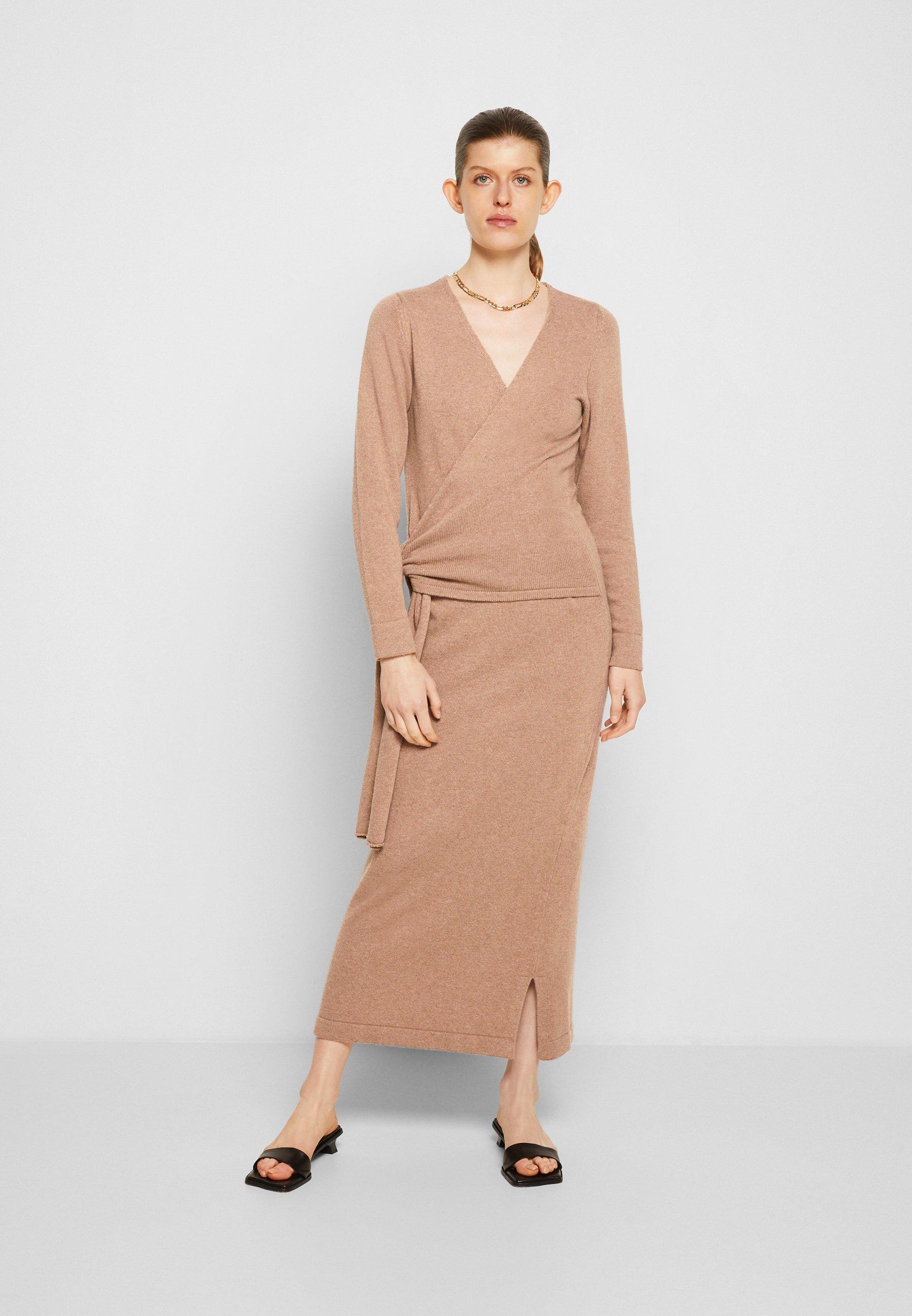 Women ELLA MIDI WRAP DRESS - Jumper dress