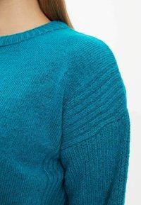 DeFacto - TUNIC - Langærmede T-shirts - turquoise - 3