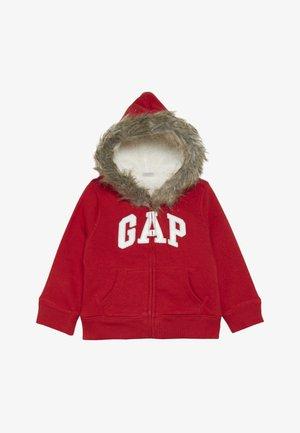 TODDLER GIRL LOGO  - Fleecová bunda - modern red