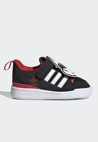 adidas Originals - FORUM 360 I ORIGINALS CONCEPT SNEAKERS SHOES - Sneaker low - core black/ftwr white/vivid red - 7