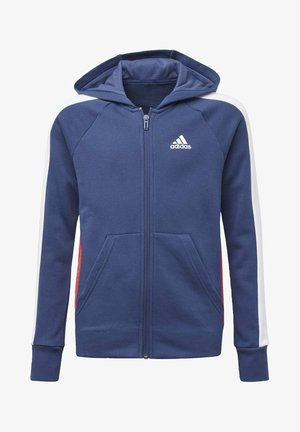 ADIDAS ATHLETICS CLUB  HOODIE - Zip-up hoodie - blue