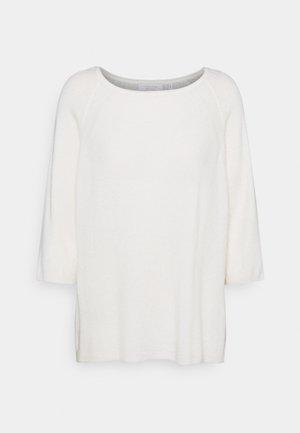 CREW NECK  - Jumper - pearl white