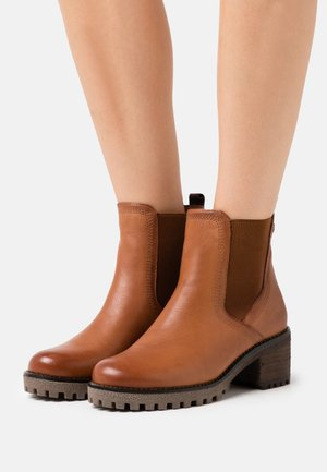 LADIES BOOTS  - Classic ankle boots - camel