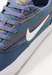 Nike SB - CHARGE PRM UNISEX - Trainers - mystic navy/white - 5