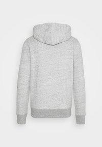Hollister Co. - TECH LOGO - Zip-up hoodie - grey - 1