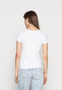 Levi's® - TEE 2 PACK - T-shirt basique - white/mineral black - 2