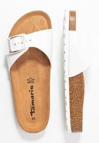 Tamaris - SLIDES - Slippers - white - 3
