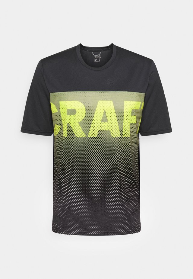 CORE OFFROAD  - Sportshirt - black/forest