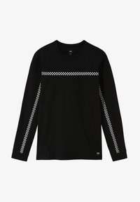 Vans - MN CHECK THROUGH LS - Long sleeved top - black - 2