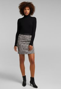 Esprit - Mini skirt - black