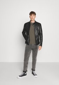 Tigha - DENZEL - Leather jacket - black - 1