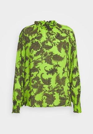Topper langermet - khaki/green