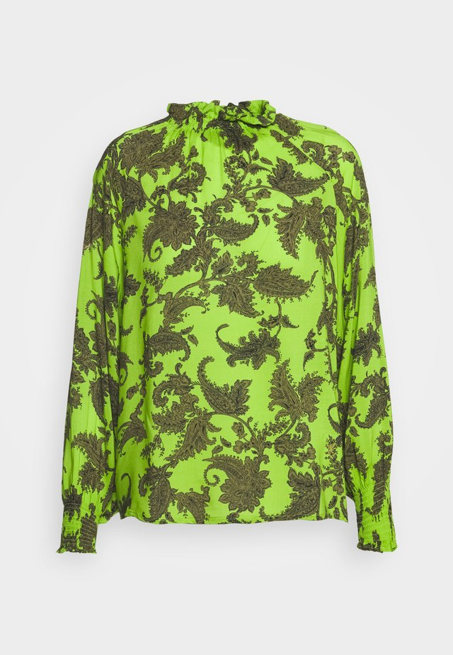 Long sleeved top - khaki/green