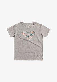 Roxy - DAY AND NIGHT C  - Print T-shirt - heritage heather - 0