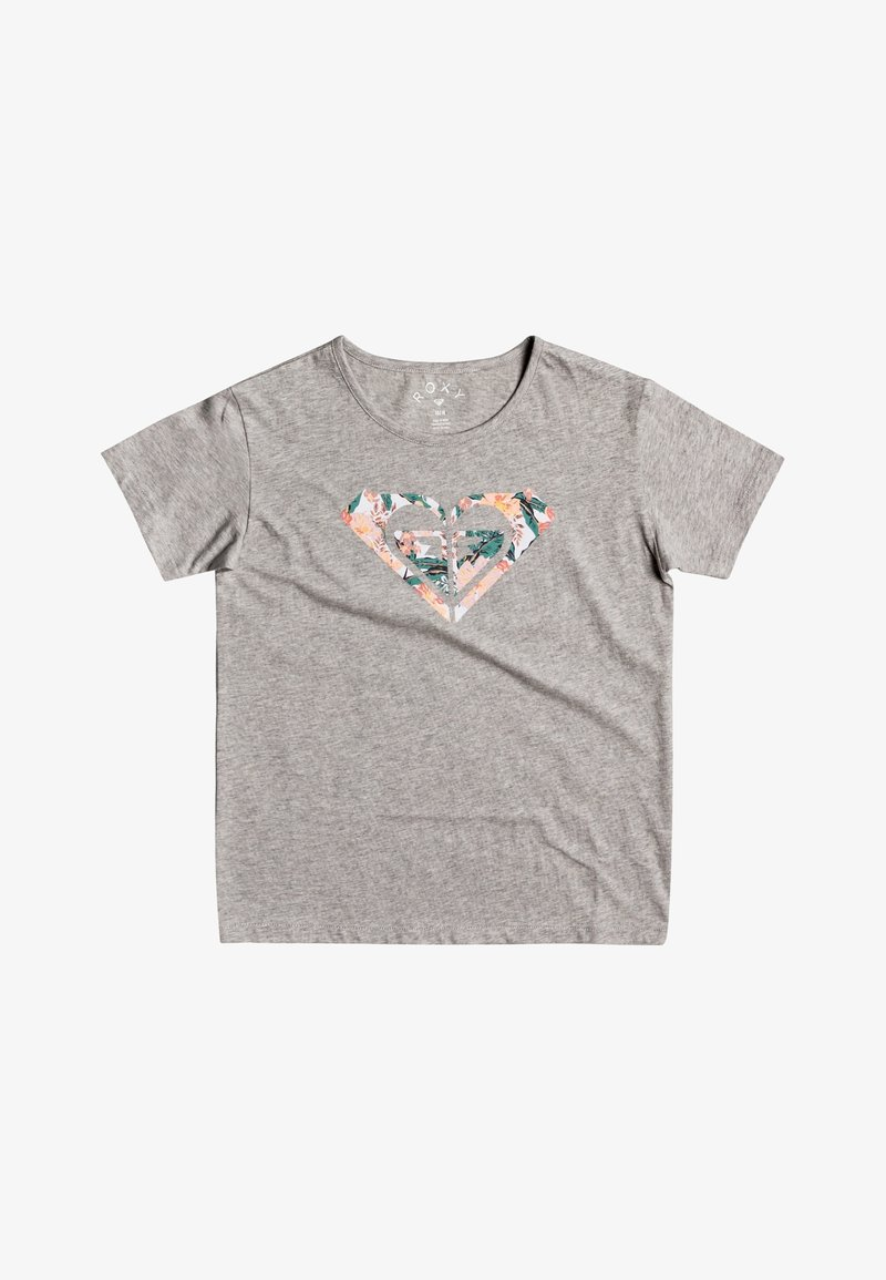 Roxy - DAY AND NIGHT C  - Print T-shirt - heritage heather