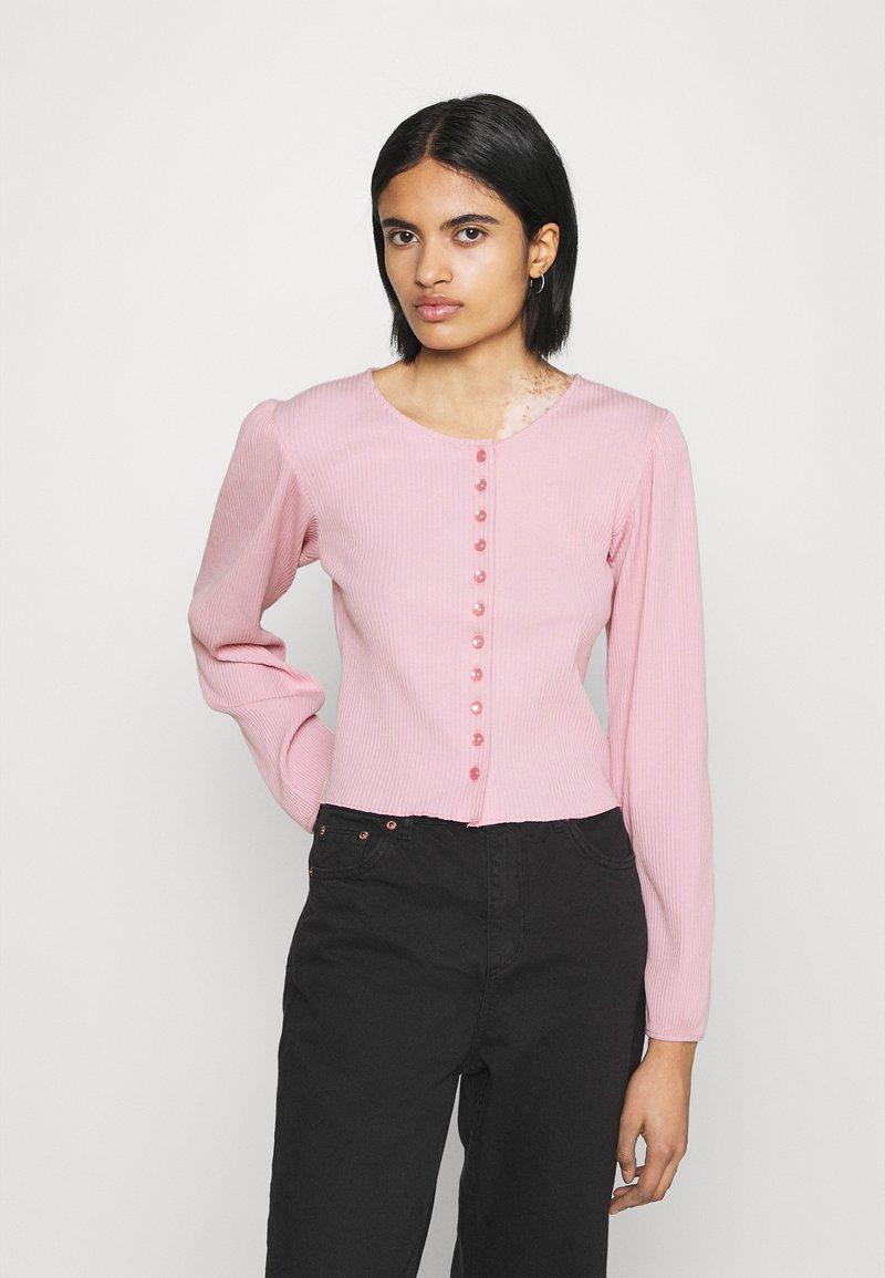Monki - Cardigan - pink