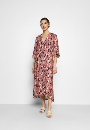 A-LINE MIDI DRESS - Denní šaty - pink