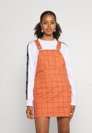ESTATE OVERALL DRESS - Day dress - copper/multi