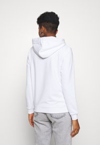 Alpha Industries - NEW BASIC HOODY FOIL PRINT - Hoodie - white/yellow gold - 2