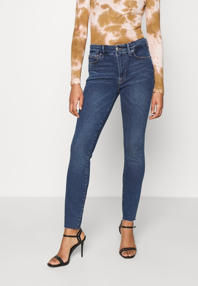 LEGS RAW EDGE - Jeans Skinny Fit - blue