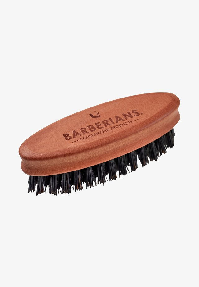 BEARD BRUSH - OVAL - Borste - -
