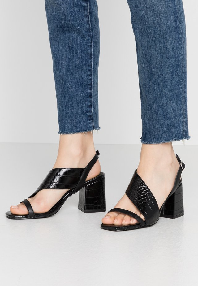 NERIT - Sandals - black