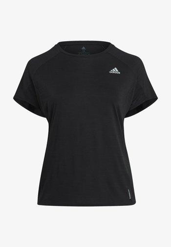 ADI RUNNER TEE - Basic T-shirt - black