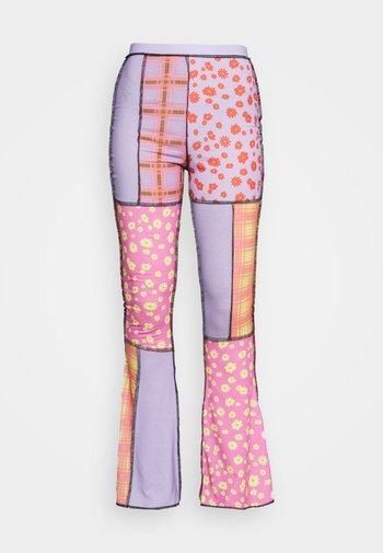 STARGAZER PANT - Pantaloni - purple