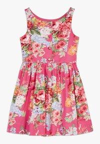 Polo Ralph Lauren - FIT DRESSES - Denní šaty - pink multi - 1