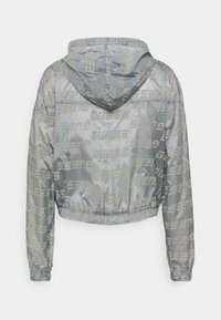 Guess - PACKABLE HOODED - Treningsjakke - lead grey - 1