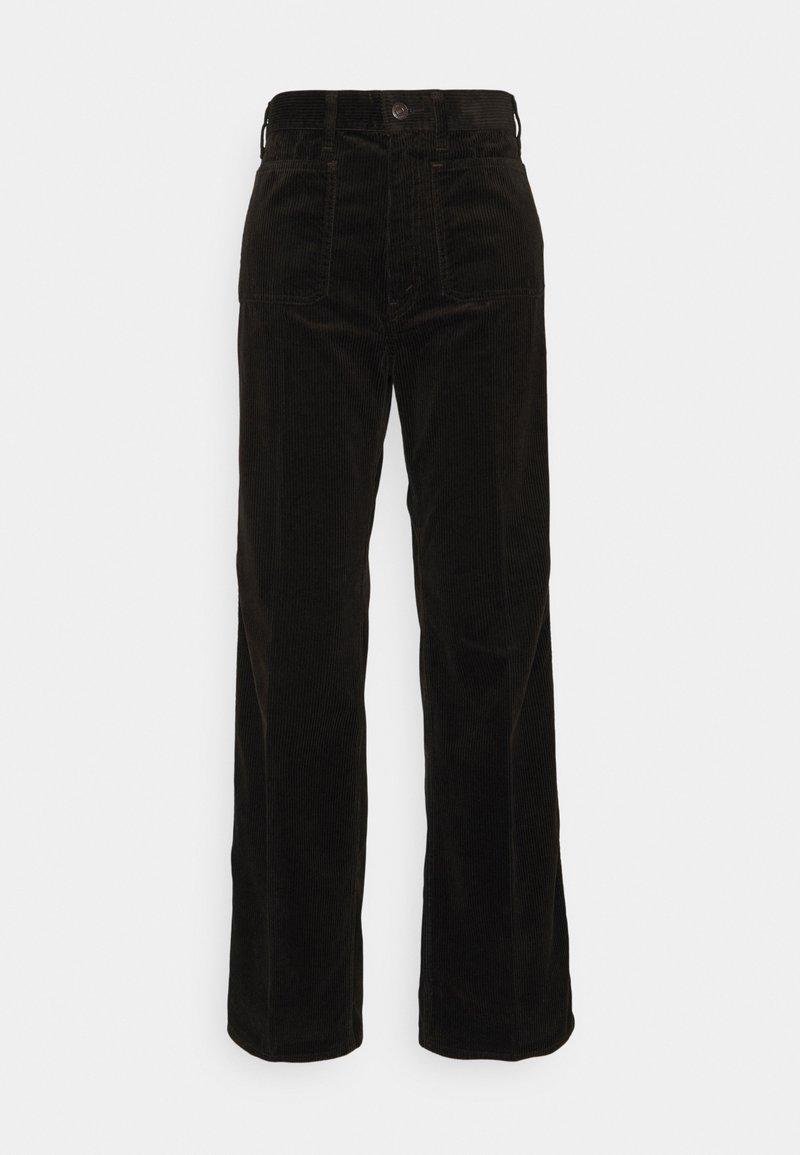 Polo Ralph Lauren - JEN FULL LENGTH FLAT FRONT - Trousers - antique brown