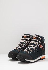CMP - ARIETIS TREKKING SHOES WP - Obuwie hikingowe - antracite/flash orange - 2