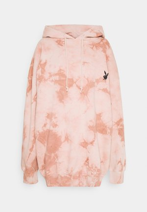 PLAYBOY OVERSIZED HOODY DRESS - Sukienka letnia - stone