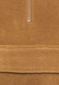 ARKET - POLAR FLEECE ANORAK - Treningsjakke - brown - 7