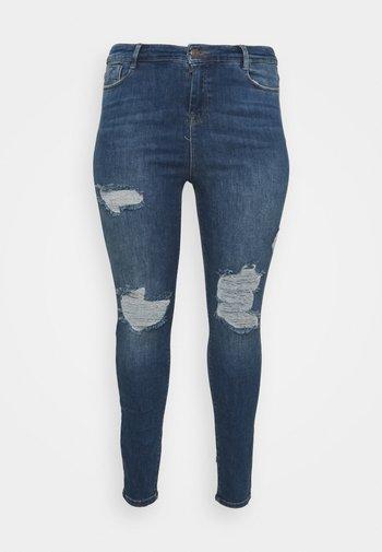 Skinny džíny - vintage blue