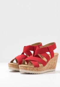 Gabor - High heeled sandals - flame - 4