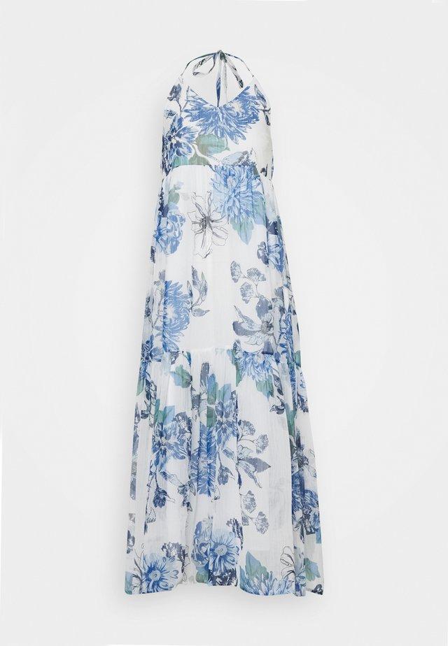 VIVIOLA STRAP DRESS - Vestito estivo - cloud dancer/blue