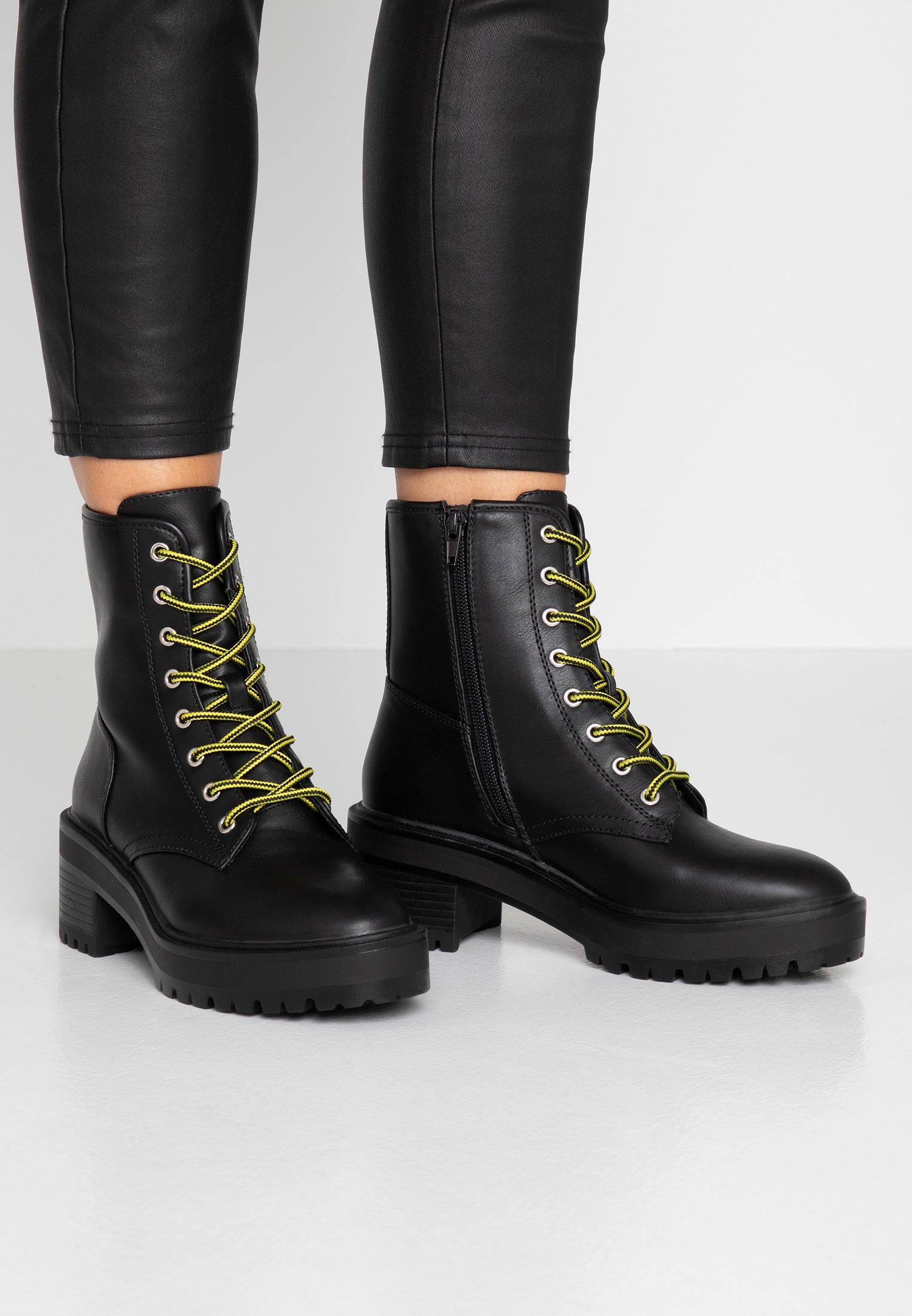 Even&Odd Plateaustiefelette - black  Stiefeletten für Damen QSCTJ